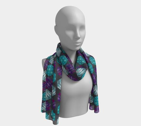 Hexagon Mosaic scarf