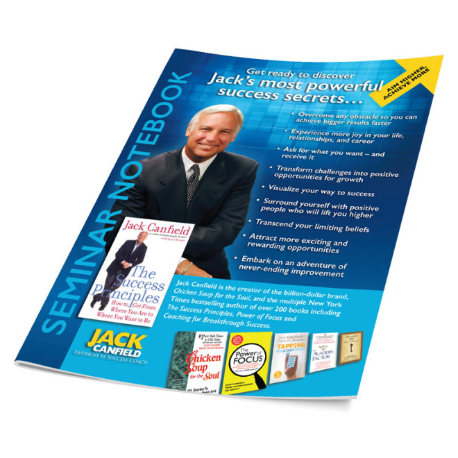 Jack Canfield Seminar Notebook - cover